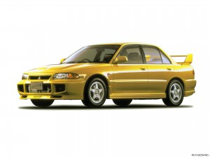Mitsubishi Evolution III Фото