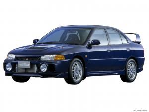 Mitsubishi Evolution IV Фото