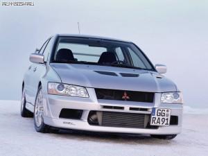 Mitsubishi Evolution VII Фото