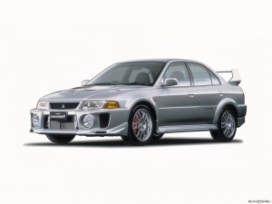 Mitsubishi Evolution V Фото